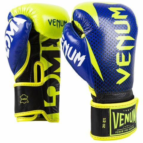 Venum Hammer 职业拳击手套 Loma 版本 - 魔术贴 - 黑/黄
