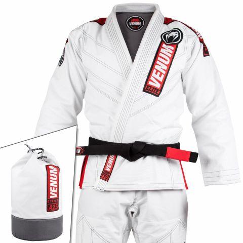 Venum Elite 2.0 巴西柔术道服 - (含道服包)- 白
