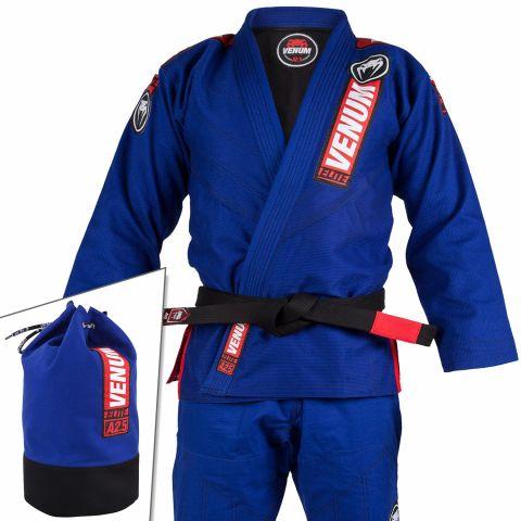 Venum Elite 2.0 巴西柔术道服 - (含道服包)- 蓝