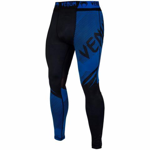 Venum NoGi 2.0 防磨紧身裤 - 黑/蓝