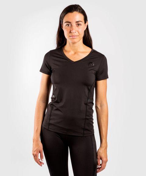 Venum G-fit 速干T恤–黑色/黑色