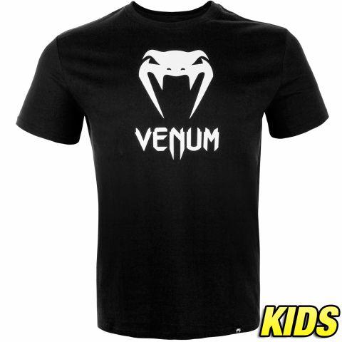 Venum Classic T恤 - 儿童 - 黑