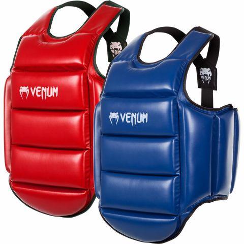 Venum空手道防护甲——正反可穿-蓝色/红色