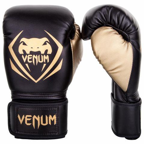 Venum Contender 拳击手套 - 黑/金