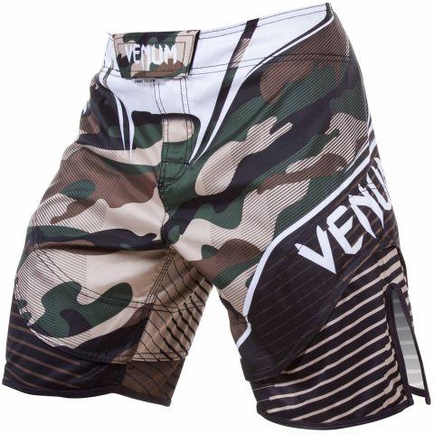 Venum Camo Hero搏击短裤-绿色/棕色