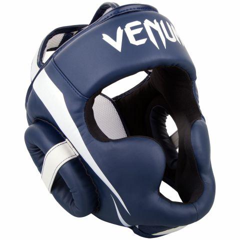 Venum Elite 头具 - 白/海军蓝