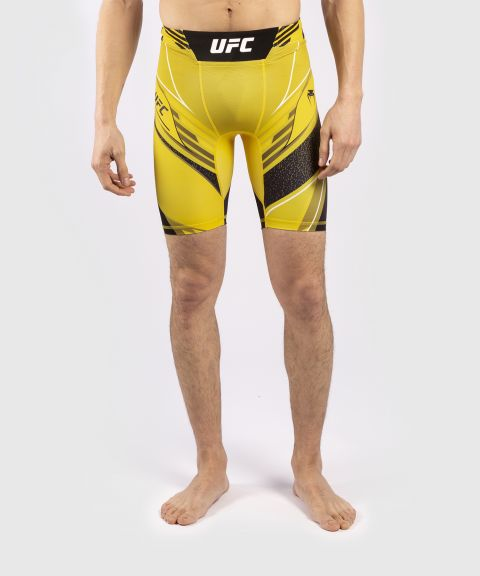 UFC VENUM PRO LINE男士VALE TUDO压力短裤 - 黄色的