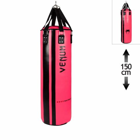 Venum Hurricane Punching Bag - 150 cm - Unfilled - Black/Pink