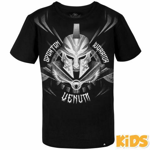 Venum Gladiator 儿童T恤 - 黑/白