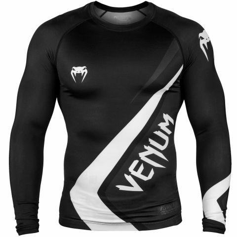 Venum Contender 4.0 防磨衣 - 长袖 - 黑/灰-白
