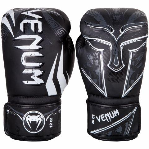 Venum Gladiator 3.0拳击手套-黑色/白色