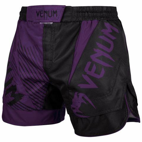 Venum NoGi 2.0 搏击短裤 - 黑/紫