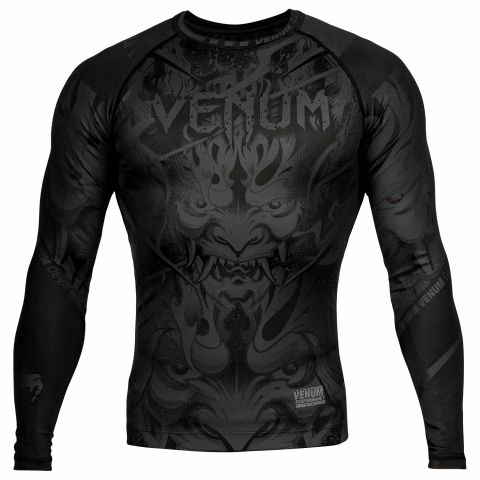 Venum Devil 防磨衣 - 长袖 - 黑/黑