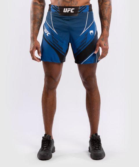 UFC VENUM AUTHENTIC FIGH紧身男格斗短裤 - 蓝色