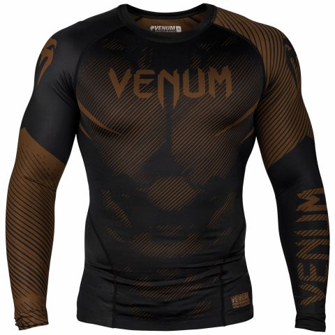 Venum NoGi 2.0 防磨衣 - 长袖 - 黑/棕