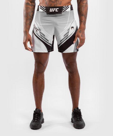 UFC VENUM AUTHENTIC FIGH紧身男格斗短裤 - 白色的