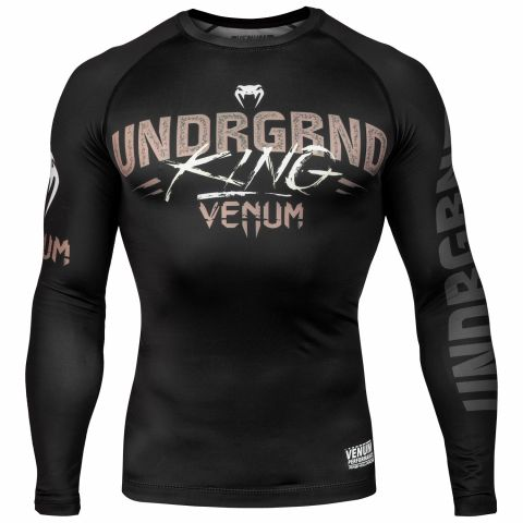 Venum Underground King 防磨衣 - 长袖 - 黑/沙