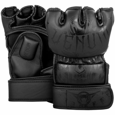 Venum Gladiator 3.0 综合格斗手套-哑光黑