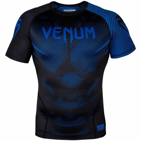 Venum NoGi 2.0 防磨衣 - 短袖 - 黑/蓝