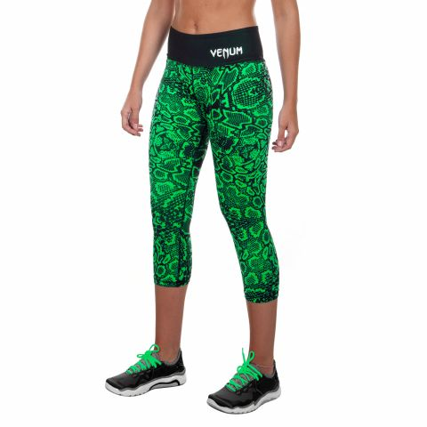 Venum Fusion九分紧身裤-绿色
