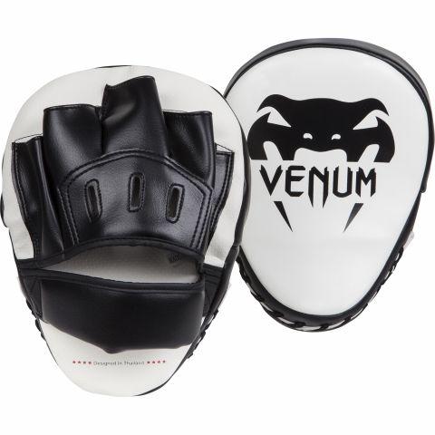 Venum Light 拳靶 - 白/黑(一对)