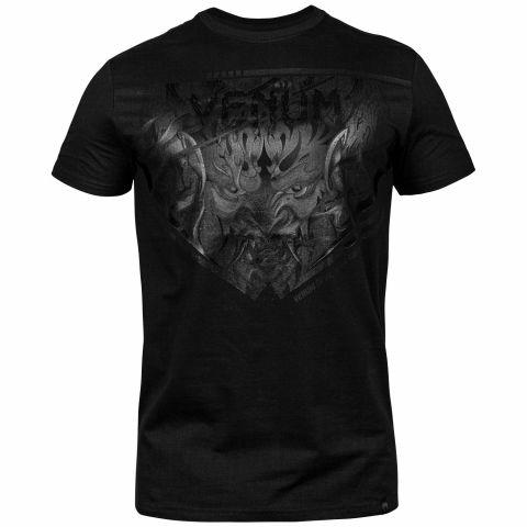 Venum Devil T恤 - 黑/黑