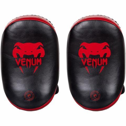 Venum 腿靶 皮质-黑/红