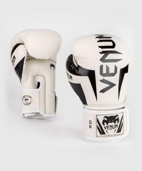Venum Elite 拳击手套 - 白/黑
