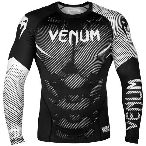 Venum NoGi 2.0 防磨衣 - 长袖 - 黑/白