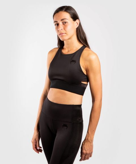 Venum G-fit 运动内衣–黑色/黑色