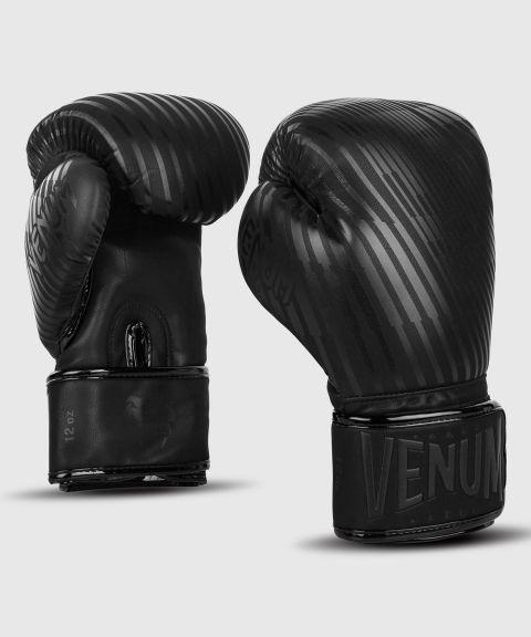 Venum Plasma 拳击手套 - 黑/黑
