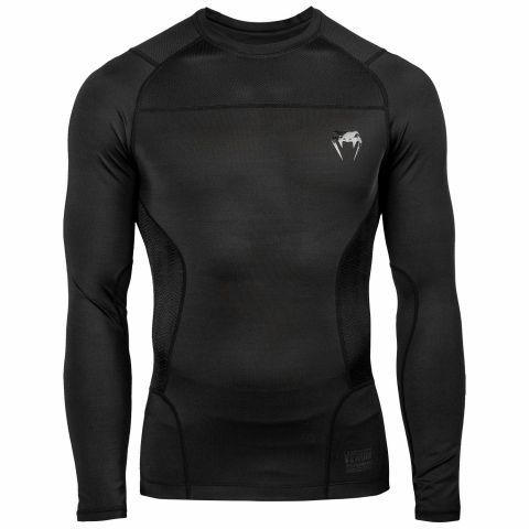 Venum G-Fit 防磨衣 - 长袖 -黑