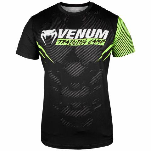 Venum Training Camp 2.0 速干T恤 - 黑/荧光黄 - 专属