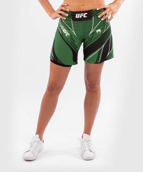 UFC VENUM AUTHENTIC搏击之夜女士短裤-长款 - 绿色