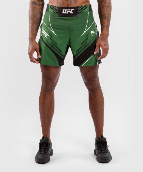 UFC VENUM AUTHENTIC FIGH紧身男格斗短裤 - 绿色