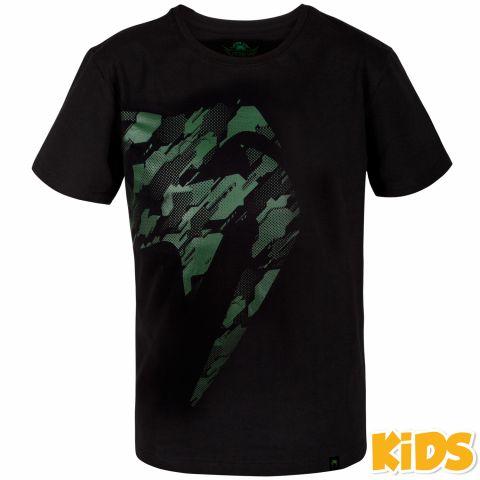 Venum Tecmo Giant T恤 - 儿童 - 黑/卡其