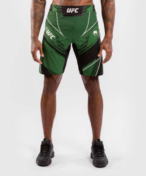 UFC VENUM AUTHENTIC搏击之夜男士短裤-长款 - 绿色