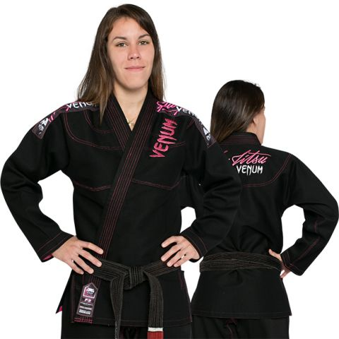 Venum Challenger 2.0女士巴西柔术道服-黑色