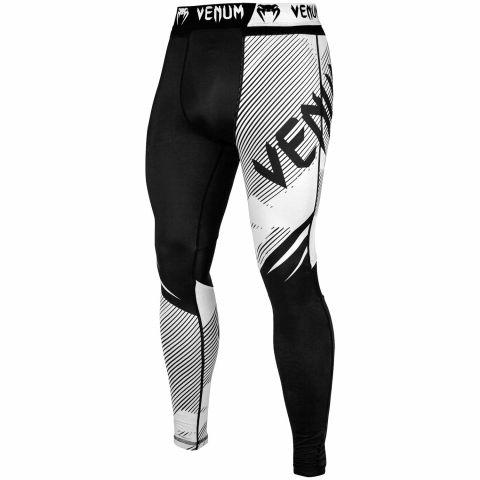 Venum NoGi 2.0 防磨紧身裤 - 黑/白