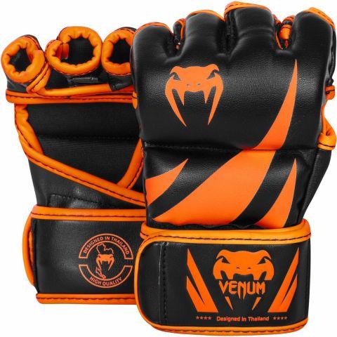 Venum Challenger 综合格斗手套-新橙色/黑色