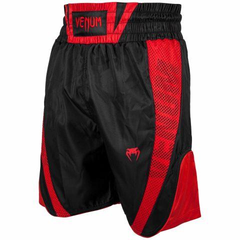 Venum Elite 拳击短裤 - 黑/红