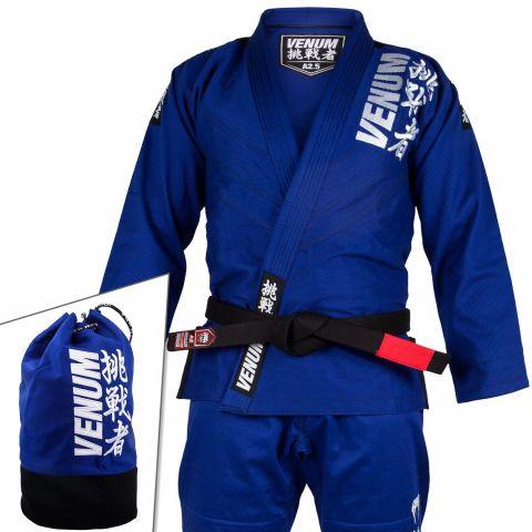 Venum Challenger 4.0 巴西柔术道服 - (含道服包)- 蓝