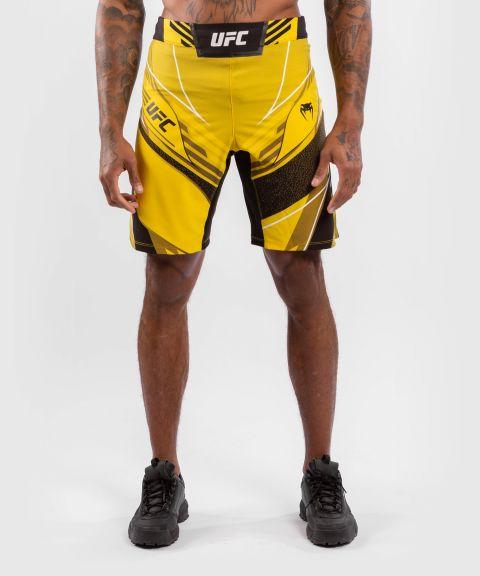 UFC VENUM AUTHENTIC搏击之夜男士短裤-长款 - 黄色的