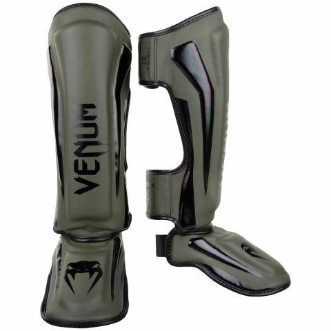 Venum Elite 站式护腿 - 卡其/黑