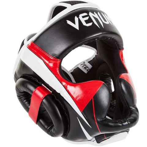 Venum Elite 头具 - 黑/红/冰