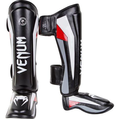 Venum Elite 站式护腿 - 黑/红/灰