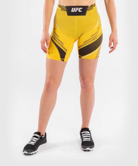UFC VENUM AUTHENTIC搏击之夜女士VALE TUDO压力短裤-长款 - 黄色的