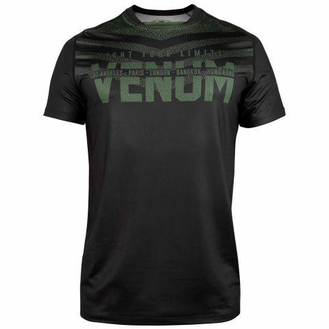 Venum Signature 速干T恤 - 黑/卡其 -专属