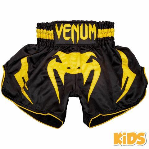 Venum Bangkok Inferno 儿童泰拳短裤 - 黑/黄