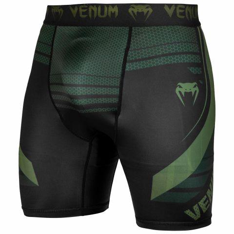 Venum Technical 2.0 压缩短裤 - 黑/卡其 - 专属